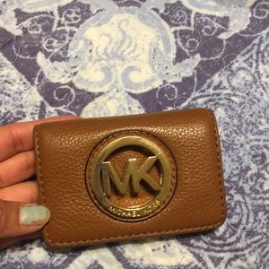 Michael kors small wallet used